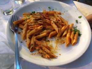 Penne all'arrabiatta
